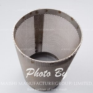 Perforated Mesh and Alloys Stainless Steel 316 Basket