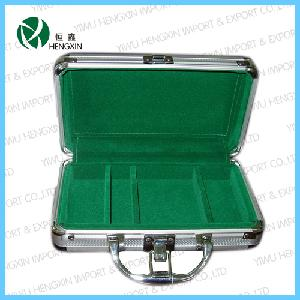 Hot Sale Aluminum Poker Chip Case (HX-PC-103)