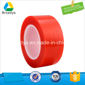 25mm X 50m Double-Sided Pet Tape High Temperature Heat Resistant Red (BY6982R)