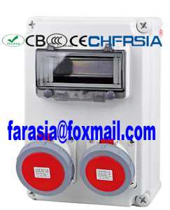 Water Proof Plastic Electronic Enclosure with Socket IP67, Electrical Enclosure