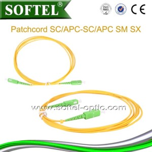 Sc/APC Optical Fiber Patch Cord