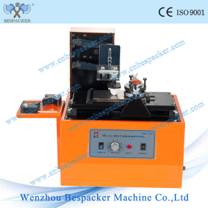 Electric Digital Plastic Cup Rectangle Plate Pad Printing Machine
