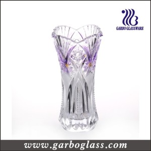 Stock Feature Purple Glass Vase