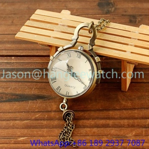High Quality Pocket Watch, Copper Chain 15137