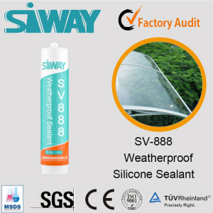 Weather-Proofing Silicone Sealant for Glass, Aluminum