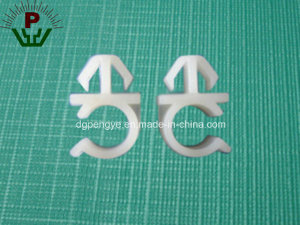 Nylon Plastic Wire Saddle Cable Clamp