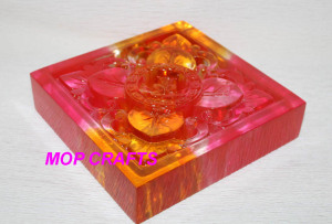 Clear Polyresin Gifts, Clear Resin Flower