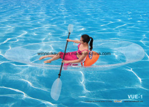China Hangzhou Romance Transparent/Clear Singer or Double Kayak
