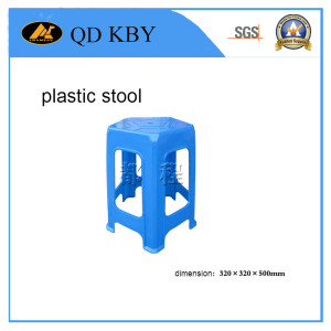 Safe Loading Plastic Square Stool for Adults & Children