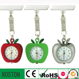 Promotion Gift Colorful Apple Shape Nurse Watch