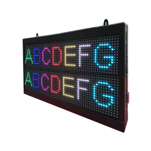 P7.62 Seven Colors Double Line LED Screen Display