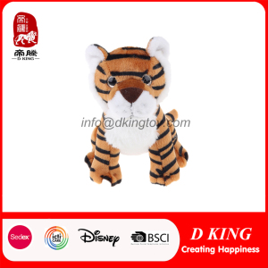 High Quality Realistic Wild Animal Tiger Stuffed Plush Toy