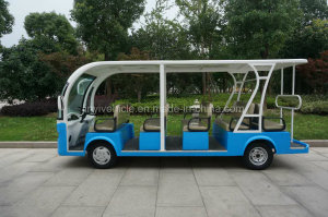 72V 5500W Battery Power Electric Passenger Tourist Car for Sightseeing with Ce Approval in Changzhou