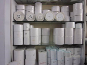 Factory Producing All Kinds of Paper Labels