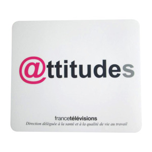 Specified Made Mouse Pad, Advertising Gift for France Television