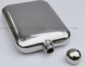 OEM High Quality Vodka Whisky Stainless Steel Hip Flask