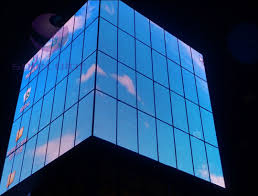 Transparent LED Screen P12 P16 P18 for Windows Glass LED Video Wall