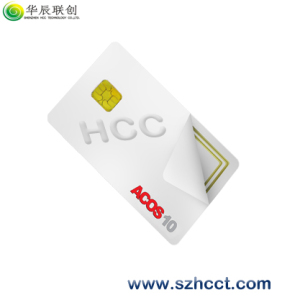 Similar to EMV2000 Pboc2.0 Certification IC Chip Card Micro SD Memory Card --Acos10