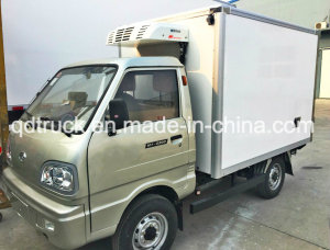Refrigerated Frozen Food Truck, Cooling Room Freezer Truck