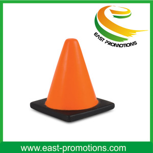 PU Road Cone Stress Toy