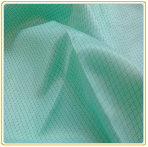 5mm Stripe or Grid ESD Polyester Fabric