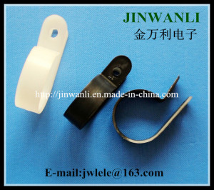 3.2 mm PA66 R Shaped Fixed Clamp Cable Clip