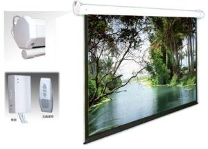 Motorized Projection Screens in 4: 3 Format, Competitive Prices