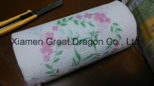 24 Giant Rolls Pick-a-Size White Paper Towels with Flower (GD-KP001)