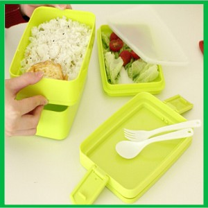 Wholesale Nice Plastic Big Capacity Lunch Box