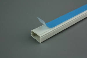 PVC Trunking Size for Electrical PVC Trunking