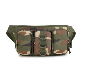 Military Tactical Waterproof Shoulder Waist Bag