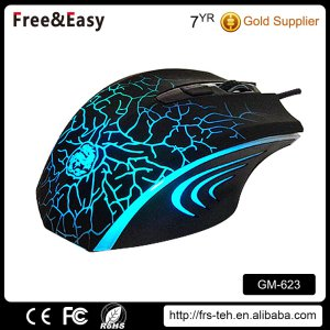 Hot Product Multi-Function 6D Gaming Optical Wired USB Backlit Mice
