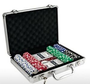 Hot Sale Aluminum Poker Chip Case (KELI-501)