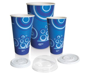Cold Paper Cups with Various Printing