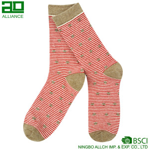 Lovely Wholesale Custom Cotton Women Socks