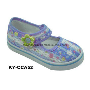 New Fashion Colorful Kids Comfort Casual Injection Canvas Shoes