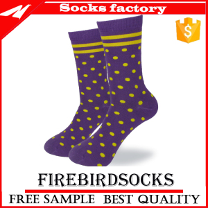Cotton Dress Socks Jacquard Custom Socks for Men