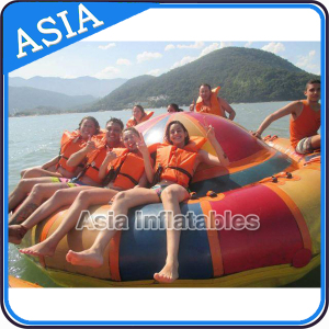 Inflatable Towable Disco Boat Water Sports Equipment Games