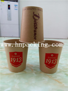 Brown Coffee Cup (YH-L163)