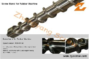 Rubber Machinery Screw and Barrel