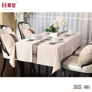 Square Polyester Tablecloth, Table Cover