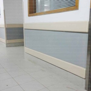 Plastic Wall Chair Guard Rails for Hospitals