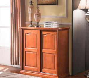 Solid Wooden Drawers Cabinet Modern Cabinet (M-X2098)