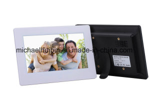 7′′ LCD Display Digital Photo Frame with Ce Certificate (HB-DPF707A)