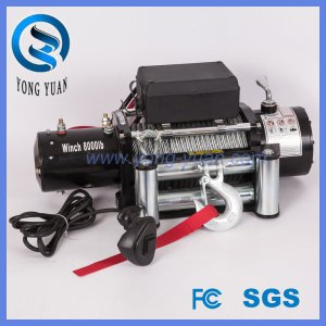 Factory Supplier 8000lbs Electric Winches 4X4 off-Road Towing Winch (DH8000F)