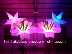 Wedding/Party Inflatable LED Flower Chain