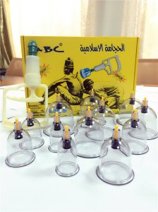 China New Product Hijama Cups Vacuum Cupping Set