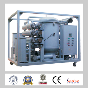 Zja -100 Two-Stage Vacuum System Transformer Oil Purification /Transformer Oil Recycling