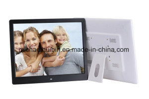 New Design 16inch Vertical LCD Screen Advertising Picture Frame (HB-DPF1601)