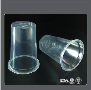 Transparent 250ml Beer Disposable Plastic Cup
